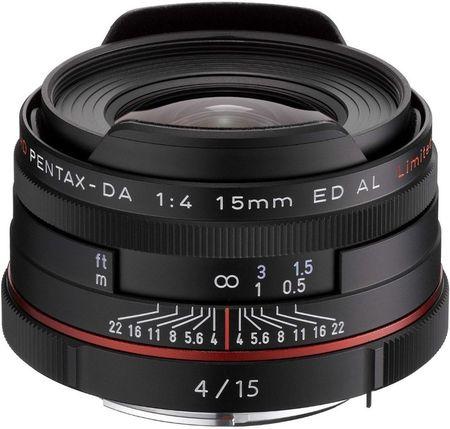 Pentax Objektiv HD DA 15 mm F4 ED AL Limited