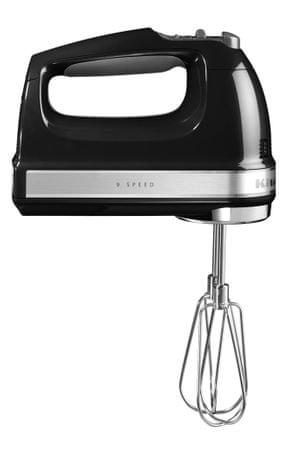 KitchenAid ročni mešalnik 5KHM9212EOB, črn - Odprta embalaža