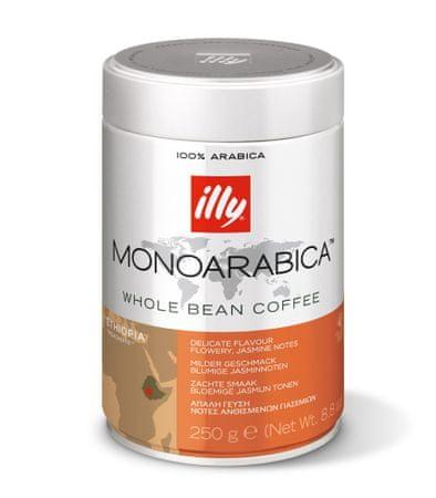 illy Zrnková káva Monoarabica Etiopia 250 g