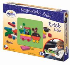 DETOA Magnetyczne mini puzzle, Krecik