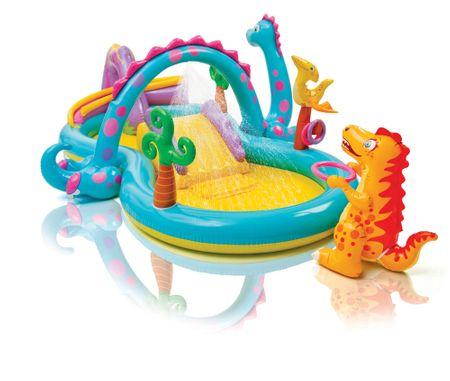 Intex DINOLAND Vízi játszótér