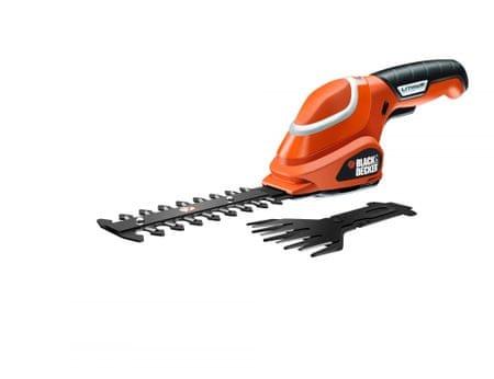 Black+Decker akumulatoske škarje za travo in grmičevje GSL700