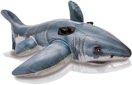 Intex 57525 nafukovací bílý žralok