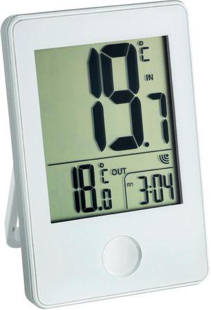 TFA Termometr bezprzewodowy biały