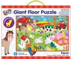 GALT Veľké podlahové puzzle – na farme, 30 ks