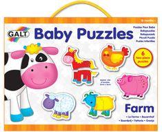 Galt Farm Baby Puzzle 6x2 db