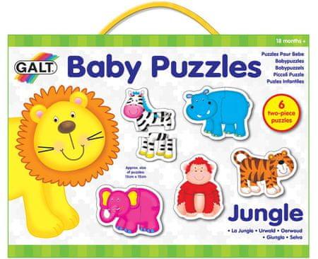 Galt Dzsungel Baby Puzzle 6x2 db