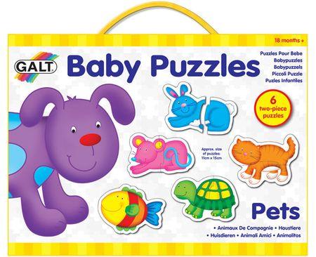 Galt Puzzle dziecięce – zwierzątka