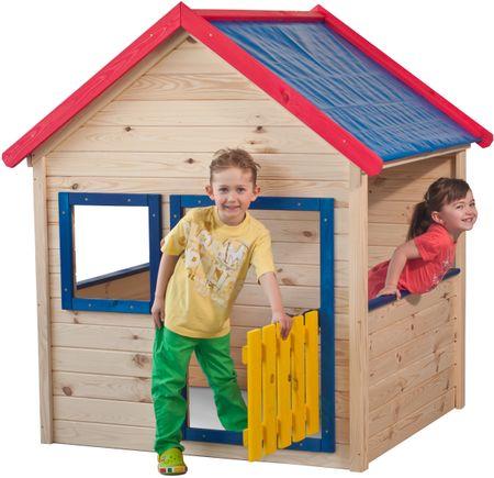 Woody hišica lesena