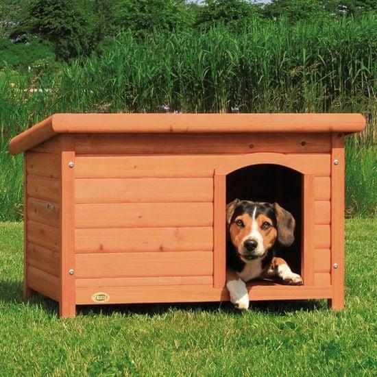 Trixie Búda pre psa, drevená, rovná strecha veľ. M