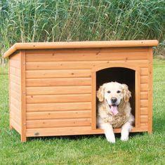 Trixie drvena kućica za pse, ravni krov, XL