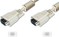 Digitus kabel 1:1 SVGA 15 m-m 15m 14 kontaktov, siv