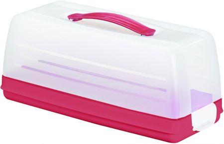Curver Škatla Curver za shranjevanje sladic, rdeča