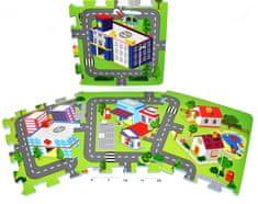 Teddies BABY Piankowe puzzle miasto 32 x 32 cm