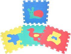 Teddies BABY Penové puzzle Zvieratá 30 x 30 cm