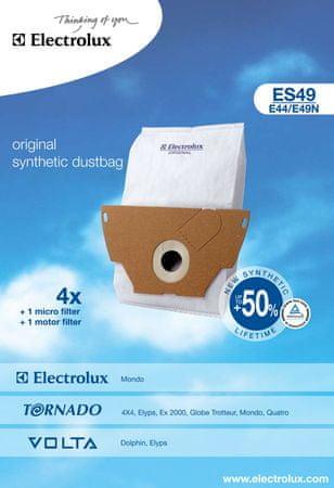 Electrolux ES49 porzsák