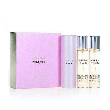 Chanel Chance EDT (3 x 20 ml), 60 ml