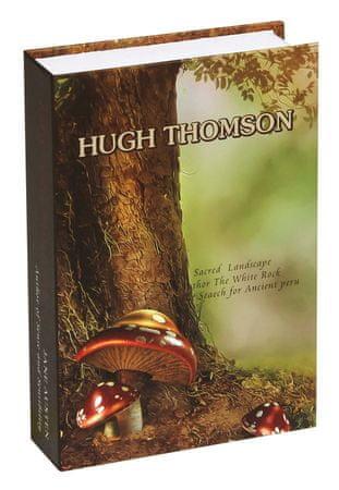 """Richter Czech kasetka TS1808 - imitacja książki """"Hugh Thomson"""""""