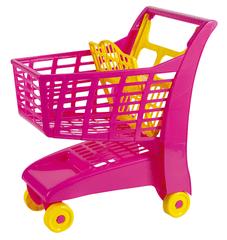 Androni Wózek na zakupy różowy