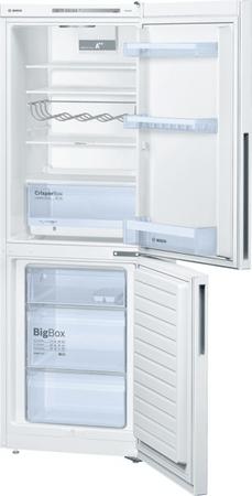 BOSCH KGV33VW31S Kombinált hűtőszekrény, 286 L, A++
