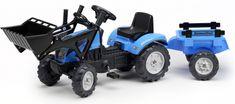 Falk Landini Powermondial 110 Traktor és pótkocsi