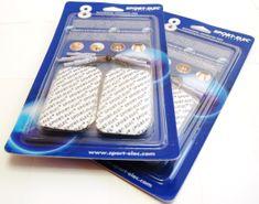 Sport-Elec elektrode za elektrostimulator, pravokotne, 8 kosov