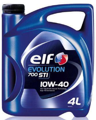 Elf motorno olje Evolution 700 STI 10W-40, 4 l