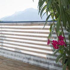 Windhager Zaštitna ograda Ibiza, sivo-bijela