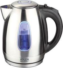 Adler kuhalo za vodu 1.7 l, 2000W, sivo