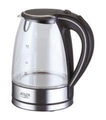 Adler kuhalo za vodu 1.7 l 2000W, sivo AD1225