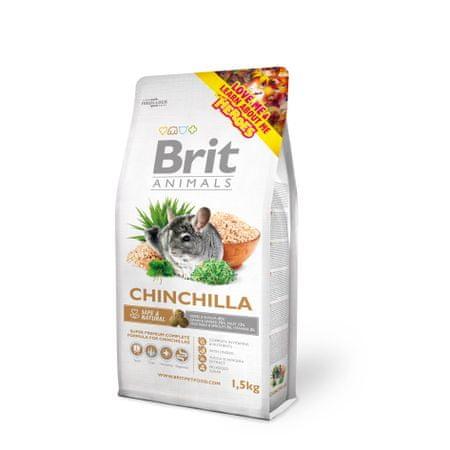 Brit sucha karma dla szynszyli Animals CHINCHILA Complete 1,5 kg