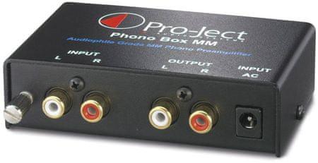 Pro-Ject Phono Box MM lemezjátszó előerősítő