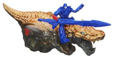 Transformers Optimus Prime na zvierati Grimlock