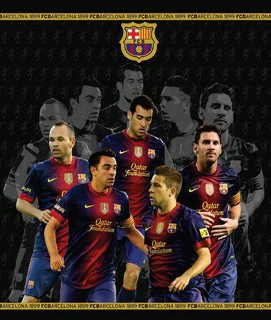 Barcelona FC registrator A4, 4R