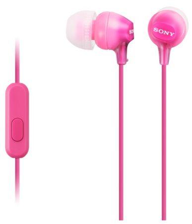 Sony slušalice MDR-EX15AP, ružičaste