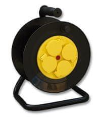 Elegant przedłużacz bębnowy Ecolite BUBEN-25 4x230V (IP44)