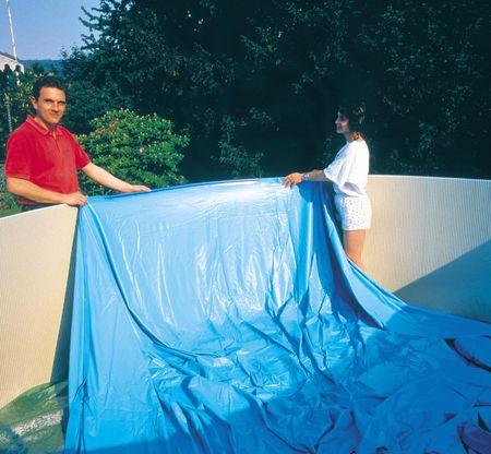 Planet Pool folija 3,5 x 0,9 m, modra 0,20 mm