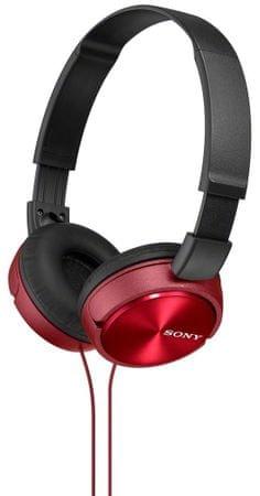 SONY MDR-ZX310R Czerwony