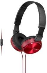 Sony MDR-ZX310AP červená - zánovní