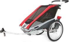 Thule kolesarski otroški voziček Cougar1 + Cycle