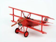 Revell ModelSet letadlo 64116 - FOKKER DR.1Triplane (1:72)