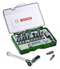 Bosch 27 dielny set s račňou