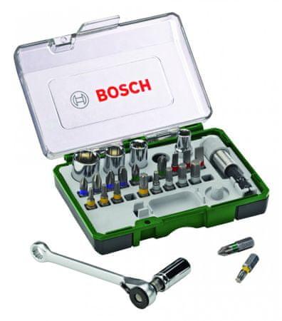 Bosch 27 delni komplet vijačnih nastavkov in ragelj (2607017160)