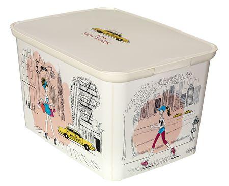 CURVER kutija za spremanje Amsterdam Deco's S Miss New York