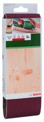 Bosch papier ścierny, taśma 75 x 457 mm - 3 szt