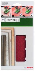 Bosch Súprava brúsnych papierov 115 × 230 mm, 10 ks (2.609.256.B25)