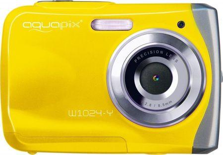 EasyPix aparat cyfrowy W1024 Splash, żółty