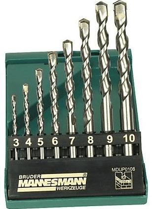 Mannesmann Werkzeug set udarnih svedrov, 8 delni (M54309)