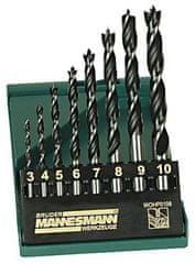 Mannesmann Werkzeug set svedrov za les, 8 delni (M54308)
