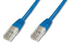 Digitus UTP mrežni kabel Cat5e patch, 1 m, moder